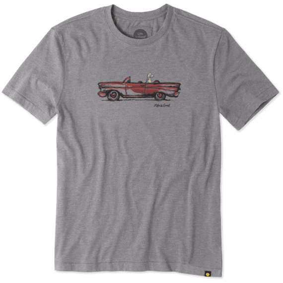 Men's Cruisin' Dog Cool Tee