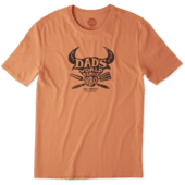 Men's Dad's Famous BBQ Smooth Tee