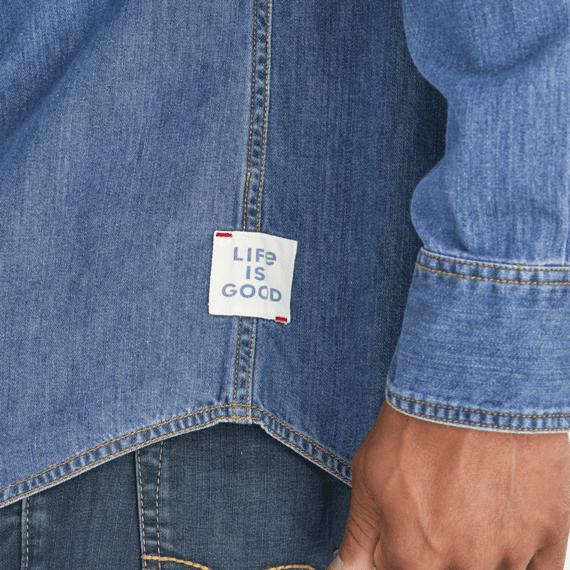 Men's Dark Wash Forever Denim Shirt