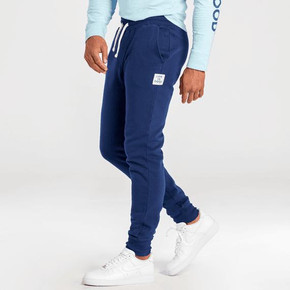 Men's Darkest Blue Simply True Fleece Jogger