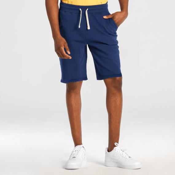 Men's Darkest Blue Simply True Fleece Shorts