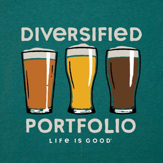 Men's Diversified Portfolio Beer Cool Tee