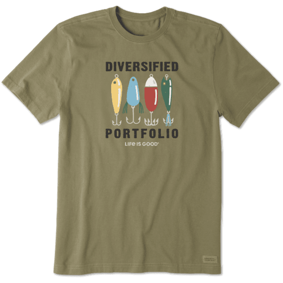 Men's Diversified Portfolio Fishing Crusher Tee