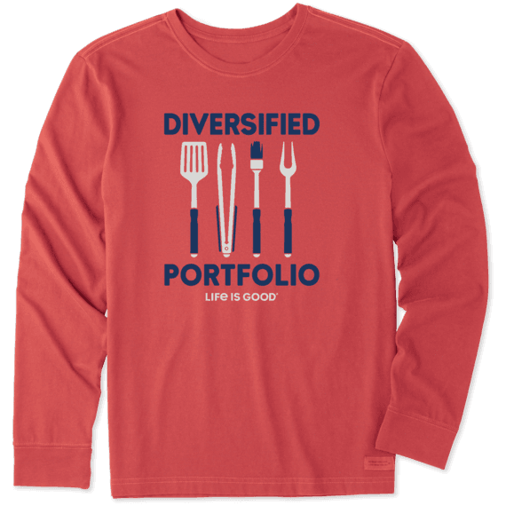 Men's Diversified Portfolio Grill Long Sleeve Crusher Tee