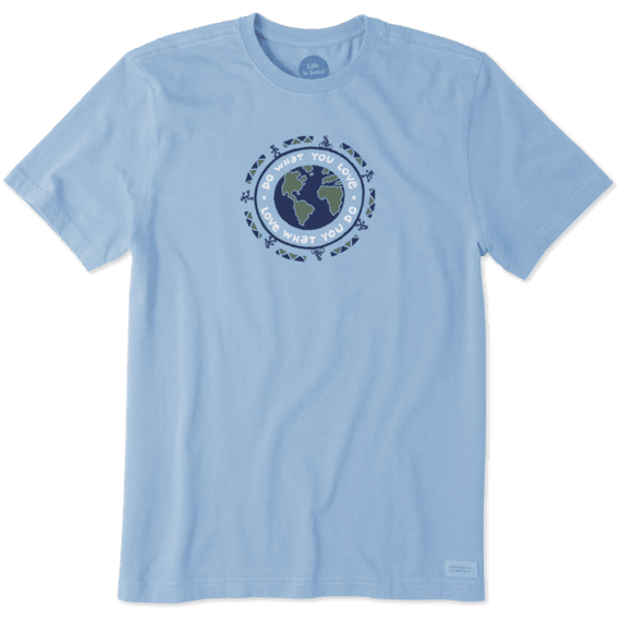 Men's Do What You Love Earth Crusher Tee