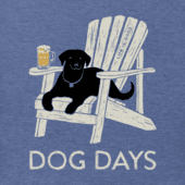Men's Dog Days Beer Crusher Tee