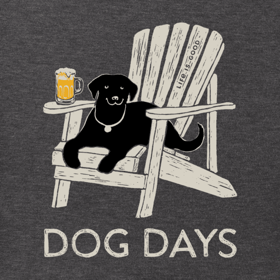 Men's Dog Days Beer Crusher Tee