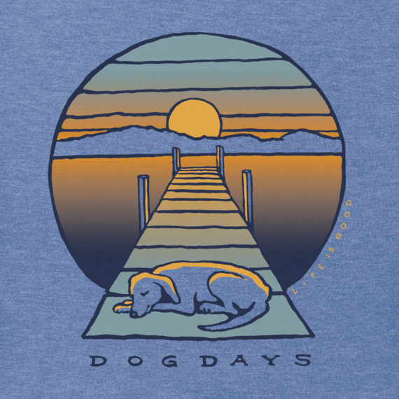 Men's Dog Dock Days Crusher Tee