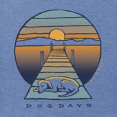 Men's Dog Dock Days Crusher Tee
