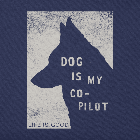 Men's Dog Is My Copilot Crusher Tee