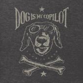 Men's Dog Is My Copilot Crusher Tee