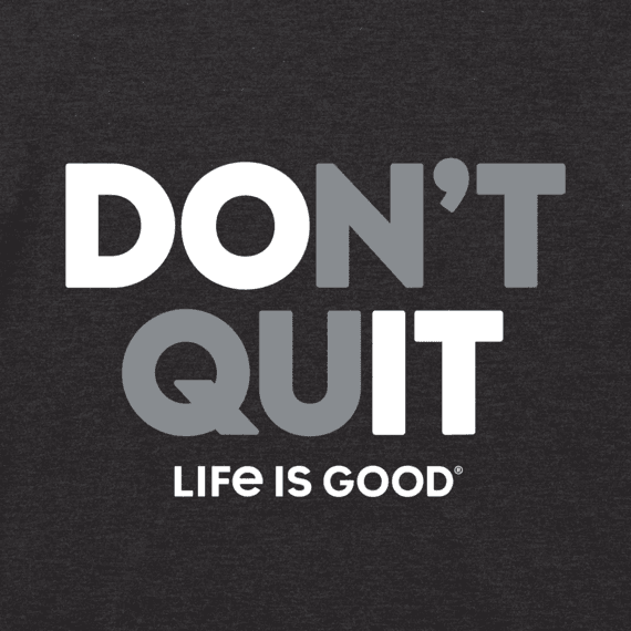Men's Don't Quit Cool Tee
