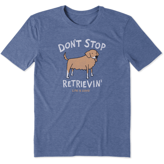 Men's Don't Stop Retrievin' Cool Tee