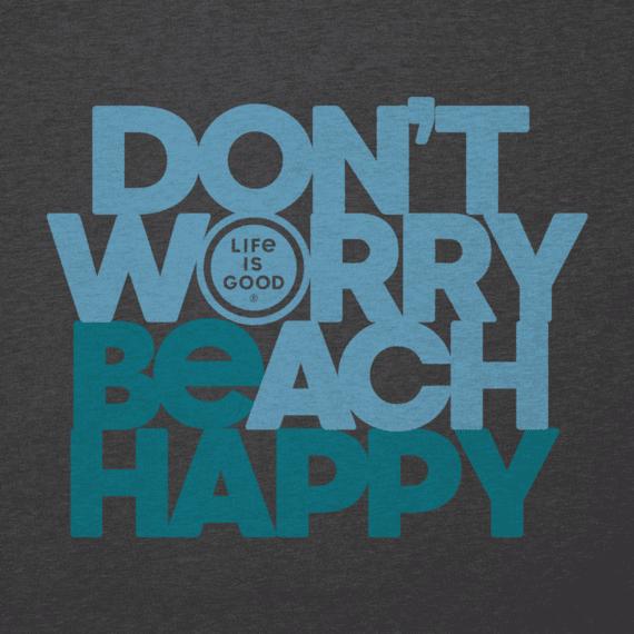 Men's Don't Worry Beach Happy Cool Tee