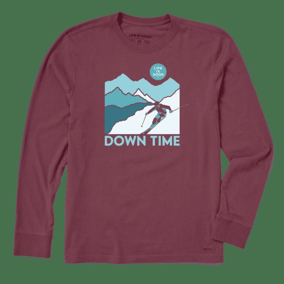 Men's Down Time Long Sleeve Crusher Tee