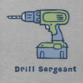 Men's Drill Sergeant Vintage Crusher Tee
