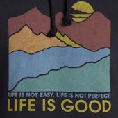 Men's Easy Perfect Good Simply True Hoodie