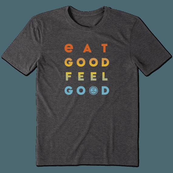 Men's Eat Good Feel Good Cool Tee