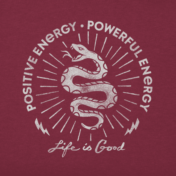 Men's Energy Snake Long Sleeve Crusher Tee