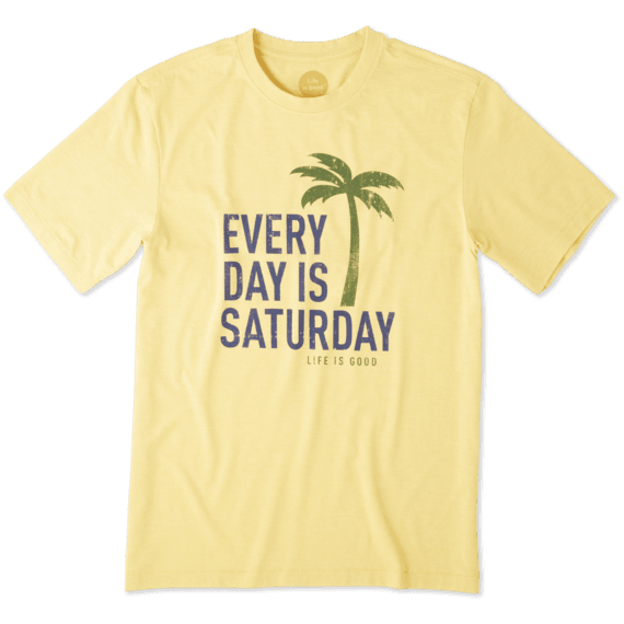 Men's Every Day Is Saturday Cool Tee