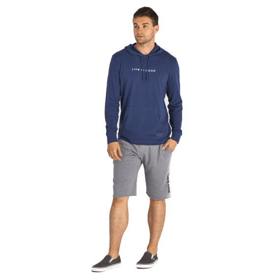 Men's Every Day Is Saturday Long Sleeve Hooded Crusher