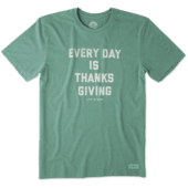 Men's Every Day Is Thanksgiving Crusher Tee
