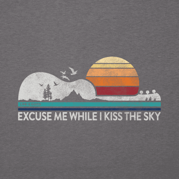 Men's Excuse Me While I Kiss the Sky Cool Tee