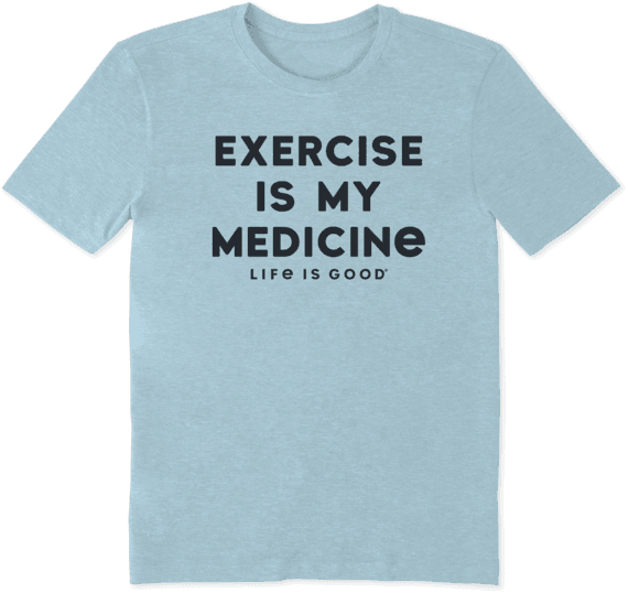 Men's Exercise Is My Medicine Cool Tee