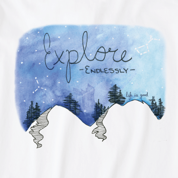 Men's Explore Endlessly Crusher Tee