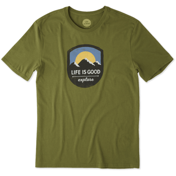 Men's Explore Mountains Smooth Tee