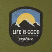 Men's Explore Mountains Smooth Tee