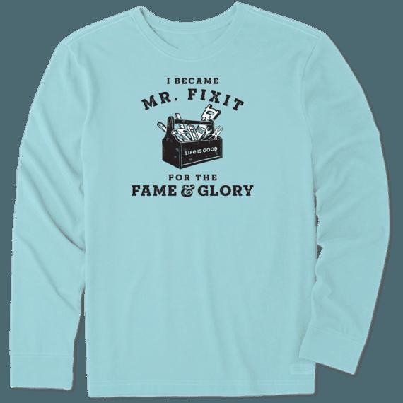 Men's Fame & Glory Long Sleeve Crusher Tee