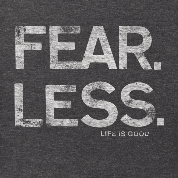 Men's Fear Less Crusher Tee