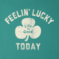 Men's Feelin' Lucky Today Crusher Tee