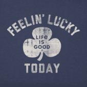 Men's Feelin' Lucky Today Crusher Tee