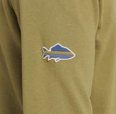 Men's Fish Patch Simply True Crew