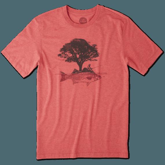 Men's Fish Tree Cool Tee