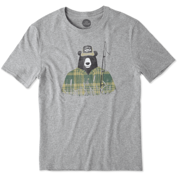 Men's Fisherbear Smooth Tee