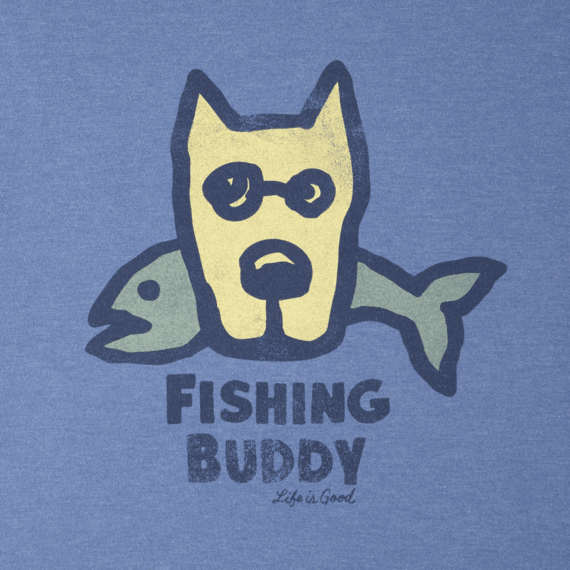 Men's Fishing Buddy Crusher Tee
