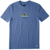 Men's Fishing Jake Vintage Crusher Tee