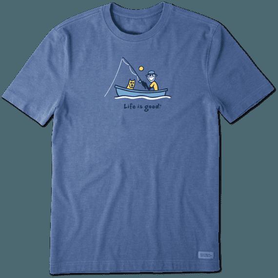 Men's Fishing Jake Vintage Crusher Tee