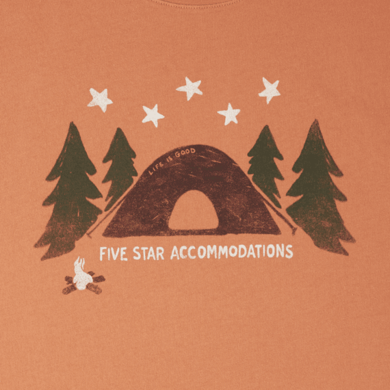 Men's Five Star Accommodations Smooth Tee