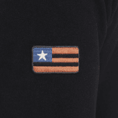 Men's Flag Patch Simply True Crew
