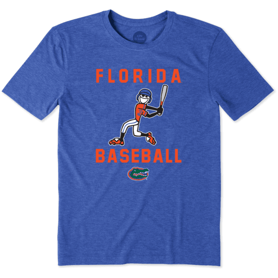 College Men s Florida Gators Baseball Jake Cool Tee  15a36b4adb72