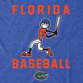 Men's Florida Gators Baseball Jake Cool Tee