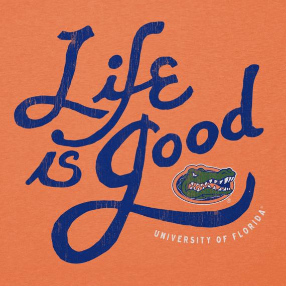 Men's Florida Gators Flourish Lig Cool Tee