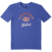 Men's Florida Gators Gradient Tailwhip Cool Tee