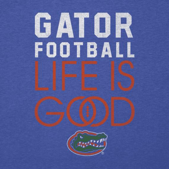 Men's Florida Gators Infinity Football Long Sleeve Cool Tee