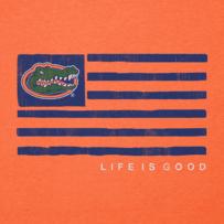 Men's Florida Gators Team Flag Cool Tee