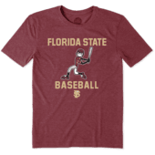 Men's Florida State Baseball Jake Cool Tee